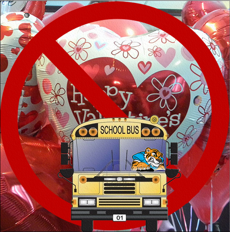 No Balloons on School Buses